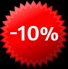 10% Topo direita